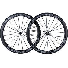 SUPERTEAM 700C Carbon Road Bike Wheels 50mm Carbon Clincher Wheelset Bicycle