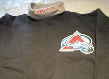 Colorado Avalanche Youth Sweat Shirt Large Turtleneck  NHL Majestic Brand 50/50