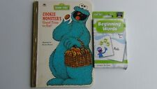 Sesame Street Beginning Words Flash Cards & Cookie Monster's Good Time to Eat