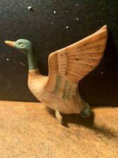 New listing Vintage Norcrest P583 Mcm Ceramic Flying Goose Wall plaque