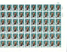 Togo 1969 - Scott#764 Gandhi - De Gaulle OVPT- Imperf Full Sheet of Stamps - MNH