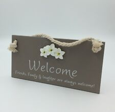 Welcome Hanging Plaque Christmas Gift Ideas For Her & Grandparents WF007B-2