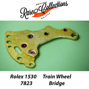 Rolex 1530 Train Wheel Bridge Ponte Ruotismo 7823 Usata #3