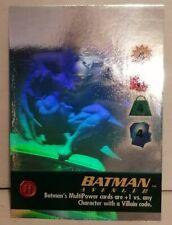 1996 Skybox Batman Holo Series OverPower card