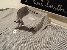 "PAUL SMITH Mens MAINLINE Shirt 🌍 Size M (CHEST 42"") 🌎 RRP £195+📮 CHECK STYLE"