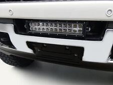 ZROADZ Front Bumper Center Opening LED Light Bar & Mount Kit / FOR 15-16 SIERRA