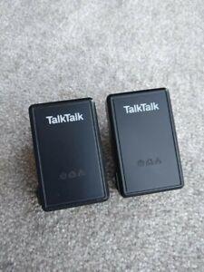 2x D-Link TalkTalk DHP-300AV Powerline Adapters  BT, Sky, Virgin, EE Ethernet