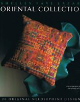 Oriental Collection: 20 Original Needlepoint ... by Lazar, Shelley Faye Hardback