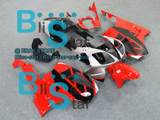 Red Glossy Fairing Kit Fit HONDA VTR1000 RVT RC51 SP1 SP2 2000-2006 06 D6