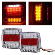 led stop arrière plaque immatriculation Feux clignotant lampe camion remorque