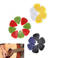 20pcs / set Guitar Picks 0.96mm Proiettando materiale di nylon raccoglie plettri