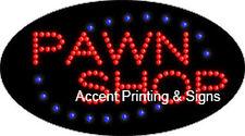 PAWN SHOP Flashing & Animated Real LED SIGN