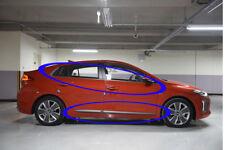 OEM Window Chrome Molding & Door Garnish 1set-12ea For Hyundai Ioniq 2018, 2019+