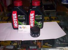 2 LT KIT TAGLIANDO FILTRO OLIO MOTUL 5100 10W50 PEUGEOT 250 GEO RS 08-09