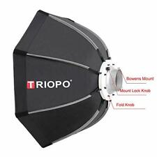 TRIOPO K120 120CM Manufacture quick and easy fold speedlite softbox