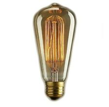 Vintage Edison Style light Bulbs 4 Pack 60w 370 Lumen 120v US standard E26 Warm