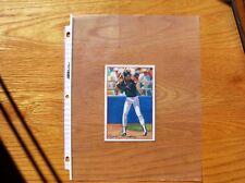 Ryne Sandberg 1990 Post Cereal Send-Away Poster Cut Art not Photo Mint Oddball