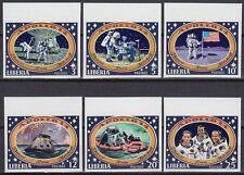 Liberia 1971 ** Mi.777/82 B Weltraum Space Espace Apollo 14
