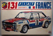 "1/24 Fiat 131 Abarth Rally - ""Fiat France""  - Esci Model kit"