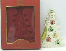 Lenox 2010 Annual Jolly Jingle Christmas Tree Ornament In Box (1Zrh)