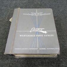 1959 Lockheed Electra Parts Catalog