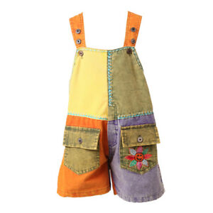 The Hippy Clothing Co. - Kids Festival Dungarees Shorts