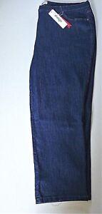 Ladies Blue  Denim  Stretch Jeans- Straight Leg- UK Size 28R- NEW