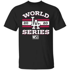 Men's Los Angeles Dodgers 2020 World Series Logo T-shirt S-4XL