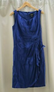 Blue/Purple Adrianna Papell Dress Size 10 Occasion Party Wedding Formal