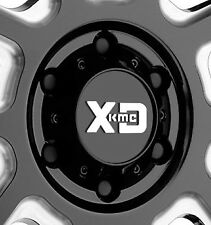 KMC XD828  Delta 8x170 Gloss Black Center Cap fits 8x170 Ford Bolt  ONLY