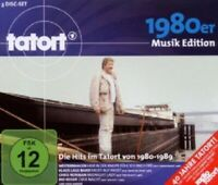 TATORT MUSIC 1980ER EDITION-DIE HITS IM TATORT VON 1980-1989; 2 CD + DVD  NEU