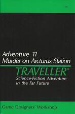 Traveller- Adventure 11 Murder on Arcturus Station GDW Play Copy FS