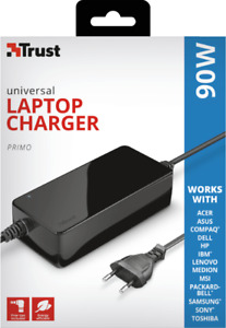 Trust Primo 90W Universal Laptop Charger Compatible with most brands New&Genuine