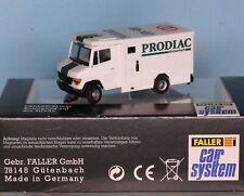 Faller 161547, Spur H0, Faller Car System LKW MB T2 Geldtransporter PRODIAC