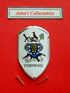 CORNWALL WALKING / HIKING STICK BADGE / MOUNT  LOT M NEW IN PACKET