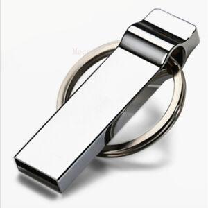 2TB 512GB USB 2.0 wasserdicht Schlüsselanhänger USB Stick Key Thumb PC Metal