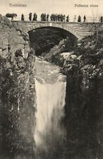 15748/ Foto AK, Trollhättan, Polhems sluss, ca. 1910