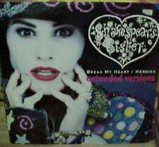 Shakespears Sister Break My Heart 4 mixes Us 12""
