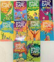 Roald Dahl 10 Books Set-Individual Books Sold as Set-Unused Books