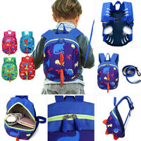 Baby Kids Safety Harness Backpack Leash Toddler Walking Keeper Anti-Lost Bag