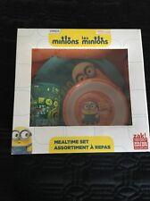 *New* Zak Minions Mealtime 3pc Set