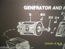 201-2844 ONAN  ROTOR ARMATURE  FITS YCB   SPEC G    ONAN GENSET NOS