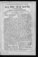 CHARLES DICKENS GREAT EXPECTATIONS ALL THE YEAR ROUND RARE 1860 WEEKLY JOURNAL