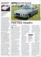 1970 Triumph 2000 Mk2 - Escape Road -  Classic Article A51-B