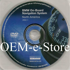 2004 BMW 7-Series 745i 745Li 760Li 760i E65 / E66 Navigation DVD Map U.S Canada