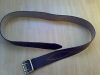 Zweidorn Koppel Leder Gürtel Belt Gr.5 Farbe Braun UdSSR СССР  Russland Ремень