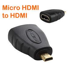 Micro HDMI Maschio a HDMI Adattatore Femmina / microHDMI CONVERTITORE 70