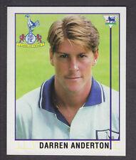 Merlin shreddies-Premier League 96 - # 176 Darren Anderton-Tottenham