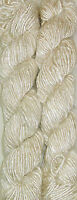 100 Grams. Himalaya Recycled Natural Soft Sari Silk Yarn Knit Woven 1 Skein