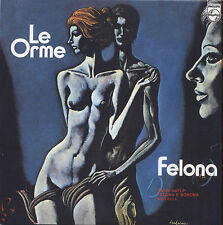 """LE ORME - Felona / L'equilibrio - LP VINYL 7"""" 2014 NUOVO NON SIGILLATO"""